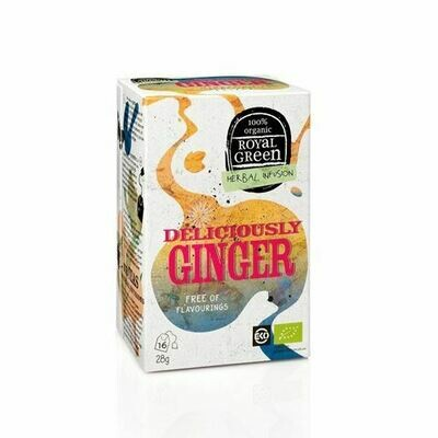 Royal Green Herbal Infusion Deliciously Ginger 28gr