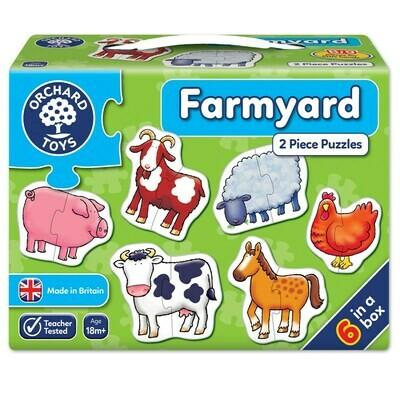 Orchard Toys Farmyard Jigsaw Puzzle
