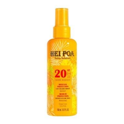 Hei Poa Soins Solaires Medium Protection Monoi Milk SPF20 Αντηλιακό Γαλάκτωμα 150ml