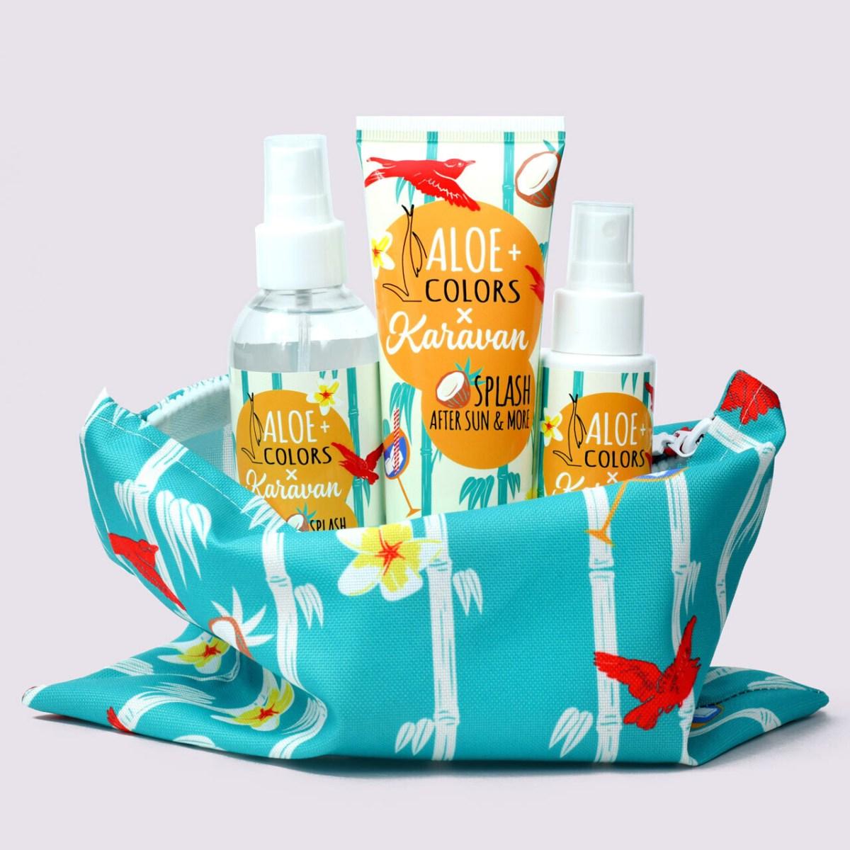 Aloe+Colors x karavan splash summer bag