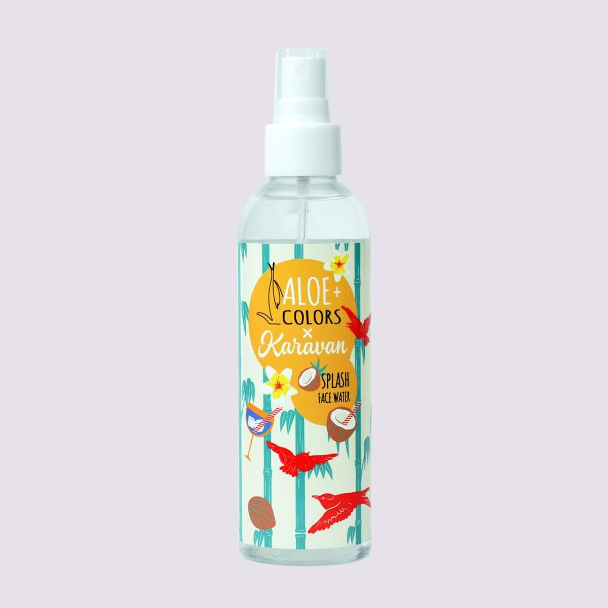 Aloe+Colors x karavan splash face water 200ml