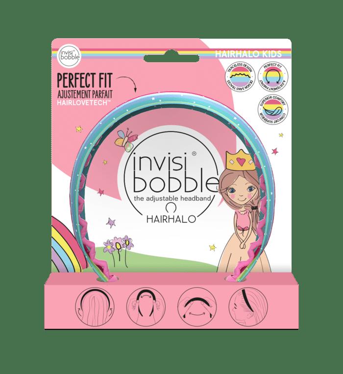 Invisibobble Kids Hairhalo Rainbow Crown