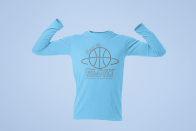 RTG  Light Blue Long Sleeve Dri Fit