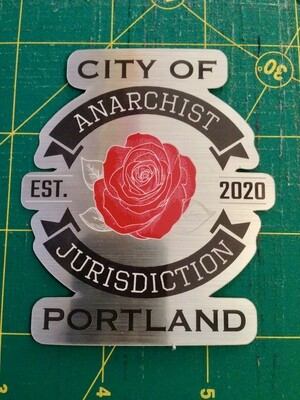 Anarchist Jurisdiction STICKER