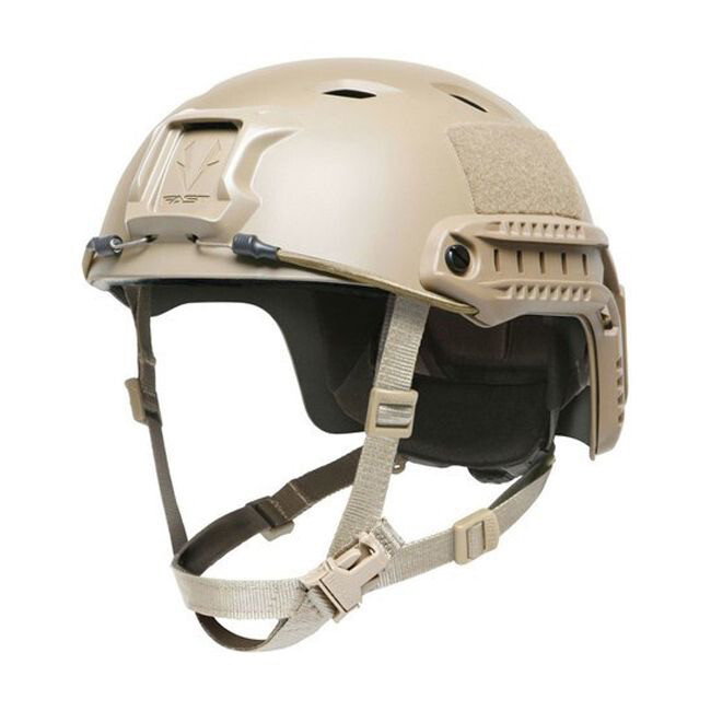 OPS-CORE FAST BUMP HIGH CUT HELMET SYSTEM. TAN