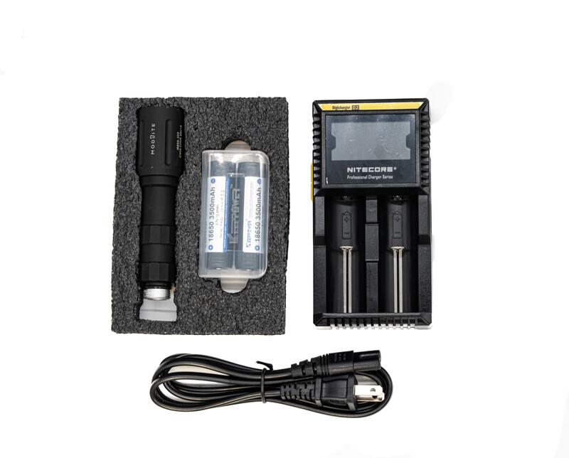 Modlite IR-850 18650 Complete Light (No Tail Cap)