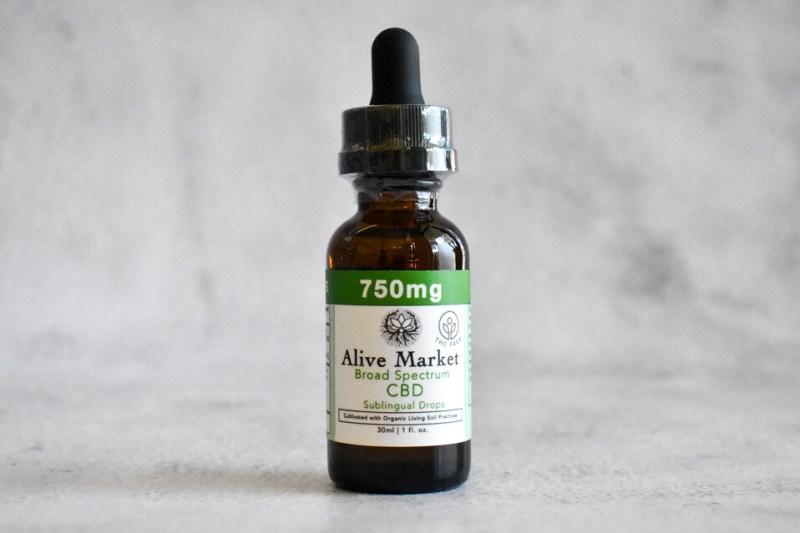 750mg (25mg/ml) Broad Spectrum (THC-FREE) CBD Tincture   30 ml