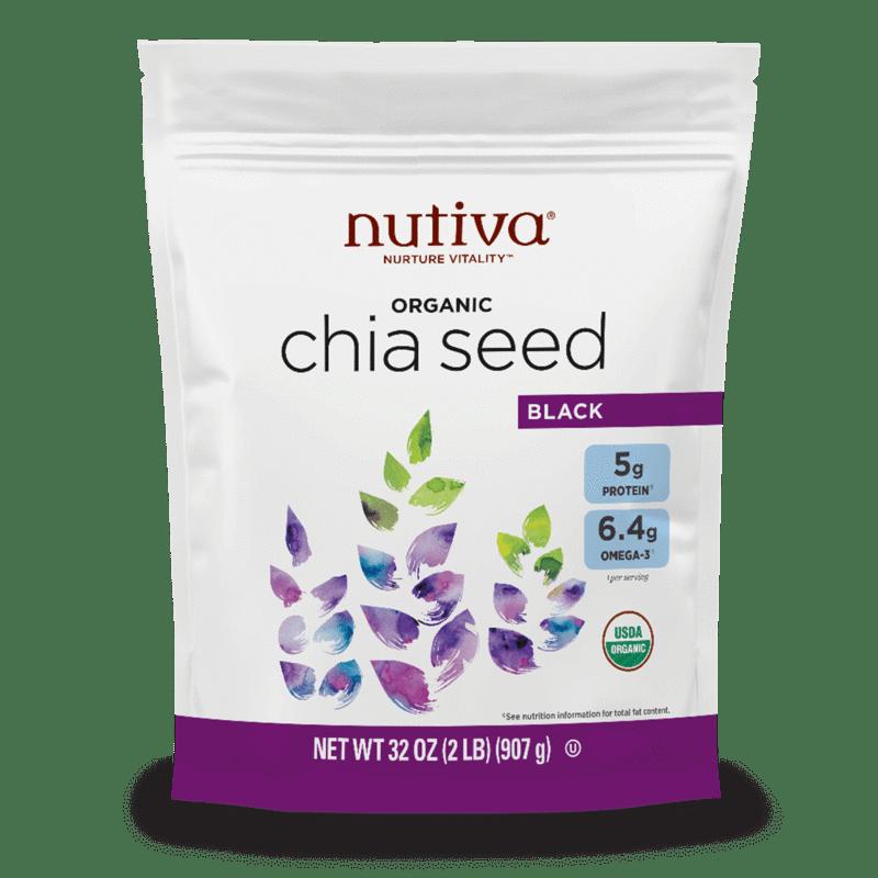 Organic Chia Seeds | Plant Based | Made by Nutiva