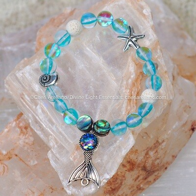 Aqua Aura Mermaid Bracelet
