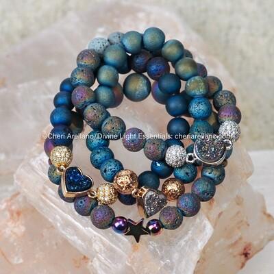 Druzy Cosmic Bracelets
