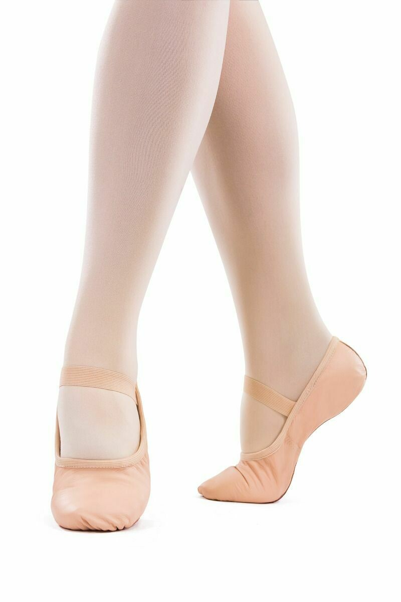 SD69L So Danca Child Leather Ballet Slipper