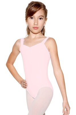 SL11 2-4 PNK Tank Child Leotard