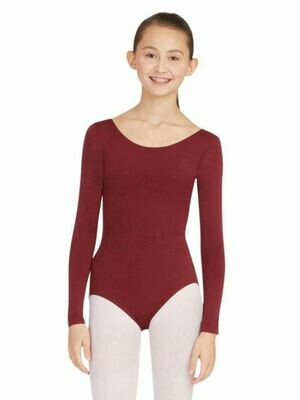 TB135 XSA MAR Long Sleeve Leotard