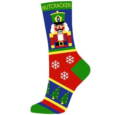 Kids and Women's Nutcracker Ballet Socks
