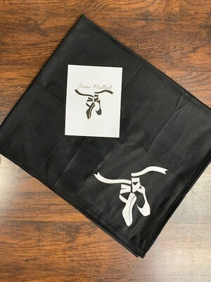 Personalized Blanket with Pointe Shoes