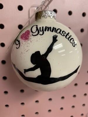 Gymnastics Ornament