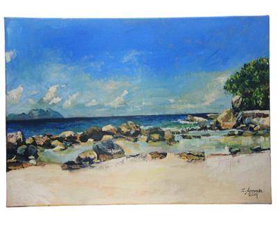 THE BEACH 50 x 60 cm