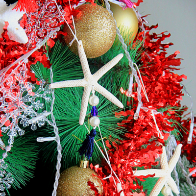Star Fish Christmas tree decoration
