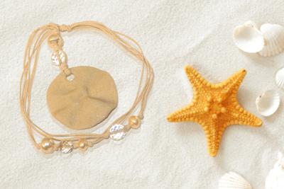 Sand Pendant Necklace