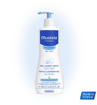 法國MUSTELA 髮膚沐浴啫喱 500ML
