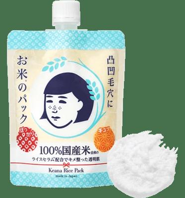 ISHIZAWA LAB 石澤研究所 毛穴撫子 日本米精華水洗面膜 170G