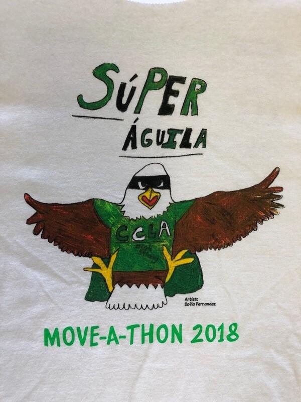 2018 Move-a-thon T-Shirt (Súper águila)