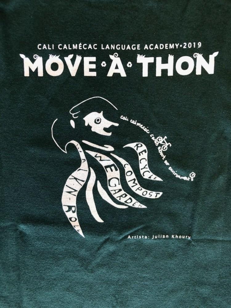 2019 Move-a-thon T-Shirt (upper design / diseño de los grados mayores)
