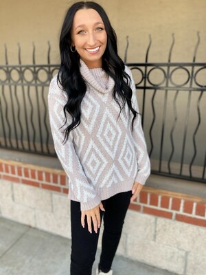 Ivory Diamond Sweater