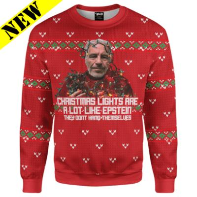 GH Christmas Sweater - Epstein Christmas Lights