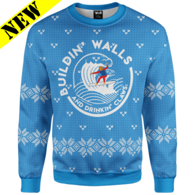 GH Christmas Sweater - Buildin' Walls