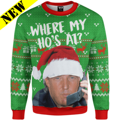 GH Christmas Sweater - Where My Ho's At