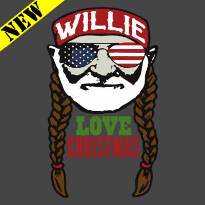Sweatshirt - Willie Love Christmas