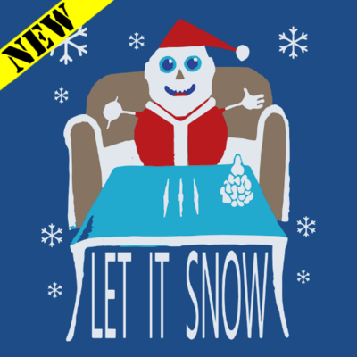Sweatshirt - Christmas Sweater - Let It Snow