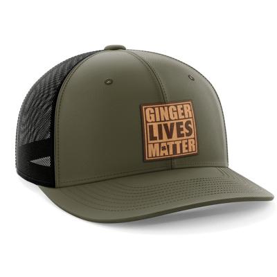 Hat - Leather Patch: Ginger Lives Matter
