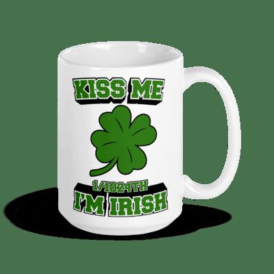 Coffee Mug - Kiss Me, I'm 1/1024 American