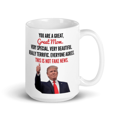 Coffee Mug - Trump Mother's Day (Thumbs Up)