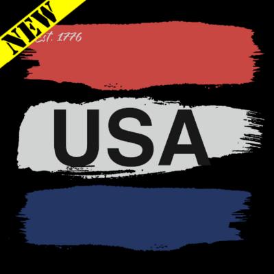T-Shirt - USA Paint