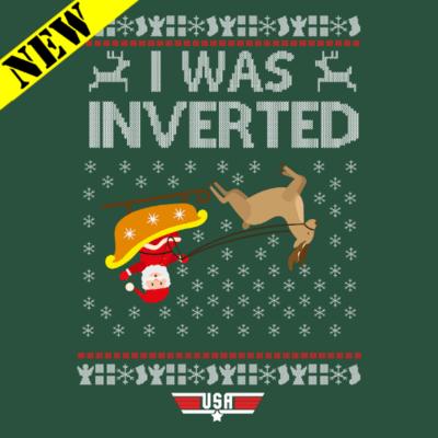 Sweatshirt - Christmas Sweater - I Was Inverted