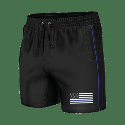 GH Swim Trunks - Thin Blue Line (Shorties)