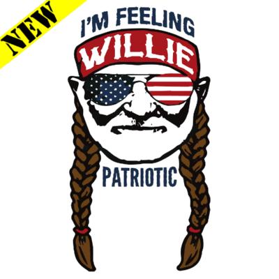 T-Shirt - Willie Patriotic