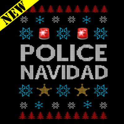 Sweatshirt - Christmas Sweater - Police Navidad
