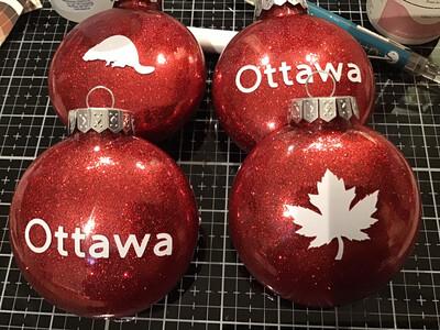 Ornaments Set Of 4