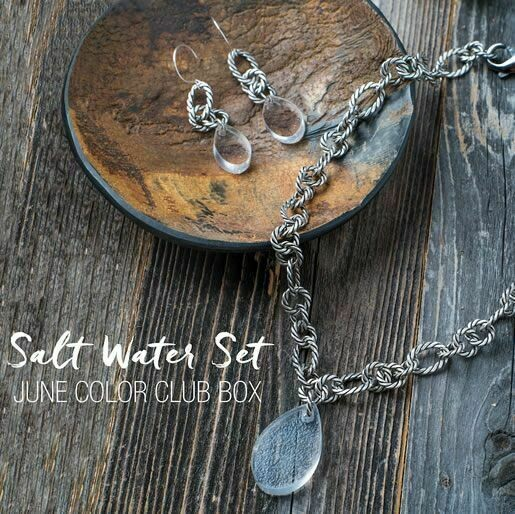 Salt Water Set by Color By Amber