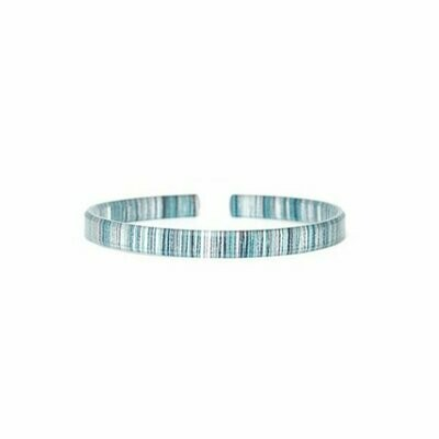 Spun Azure Skinny Bracelet