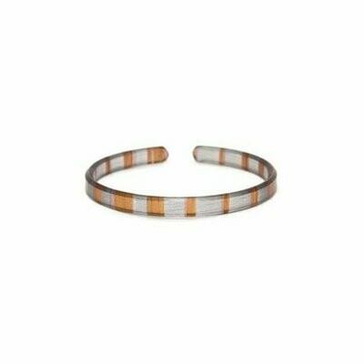 Copper Leaf Skinny Bracelet