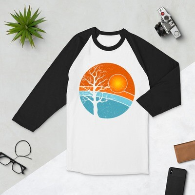 Harvest Moon Tree 3/4 sleeve raglan shirt
