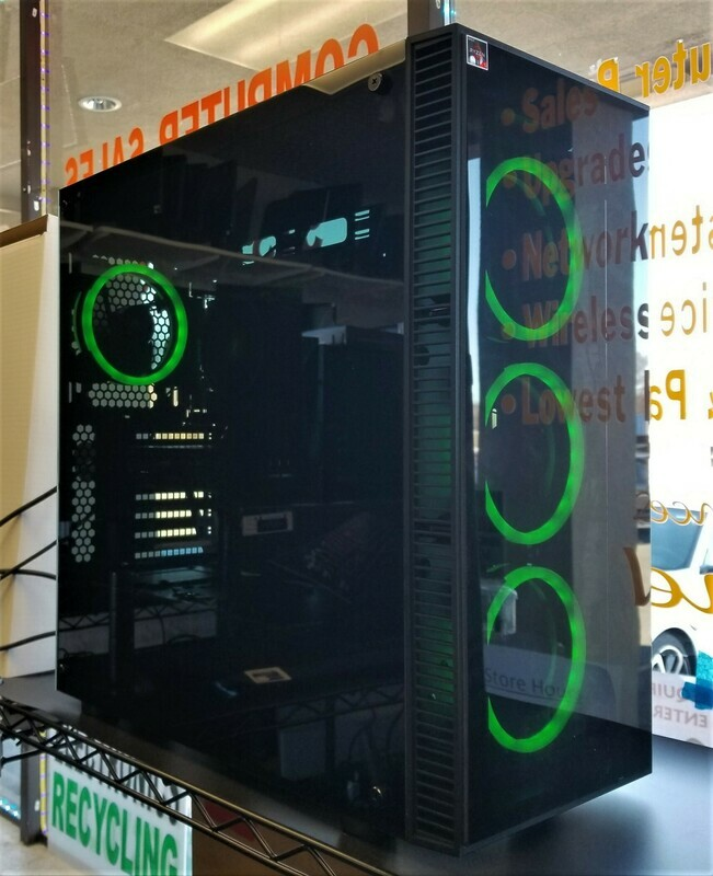 Gaming Desktop AMD Ryzen 5 3600 @3.59 GHz 16GB RAM 480GB SSD + 2TB HD ,Window 10 Pro , NVIDIA GeForce GTX 1660 6GB