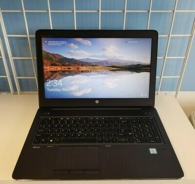HP ZBook 15.6