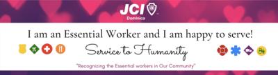 JCI - Essential Workers - Bumper Stickers
