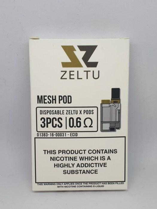 Zeltu Pods Pack of 3  0.6 Ohm